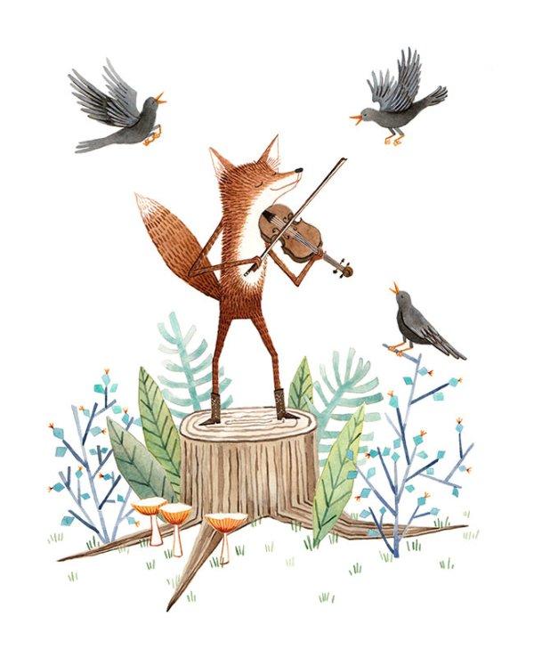 Fiddler Fox