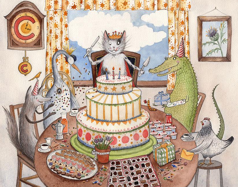новые открытки с днем рождения с котами можете