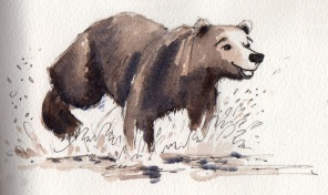 bear sketch 9: gung-ho bear