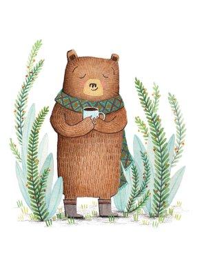 Coffee-time Bear