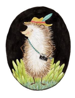 Hipster Hedgehog