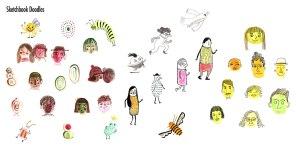 MA Portfolio: Sketchbook Doodles