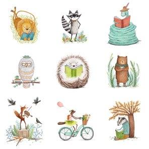 MA Portfolio: Animal Characters