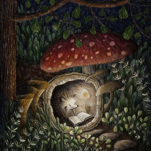 MA Portfolio: Hedgehog Log