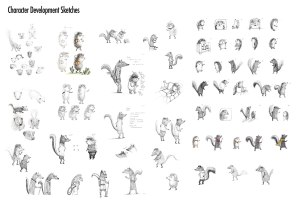 MA Portfolio: Lewis & Clark sketches