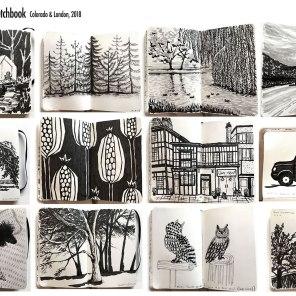 MA Portfolio: Travel Sketchbook